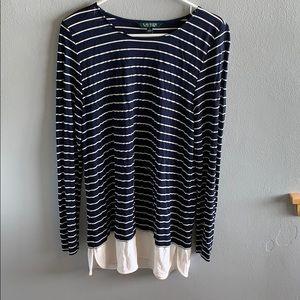 Lauren by Ralph Lauren Woman's Long Sleeve Shirt